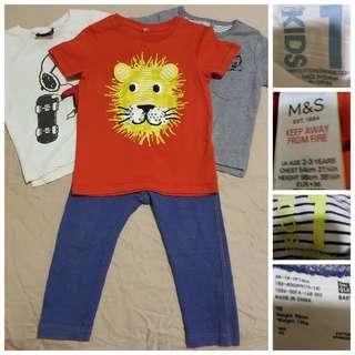 Boy's clothing 18-24mo