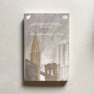 "Novel ""The Architecture of Love"""