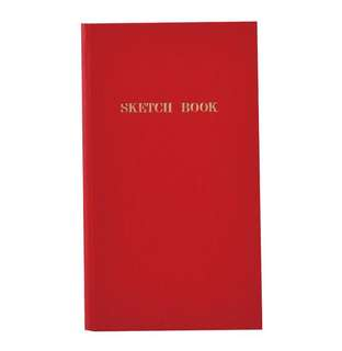 Trystrams Red Sketch Book (Made in Japan)
