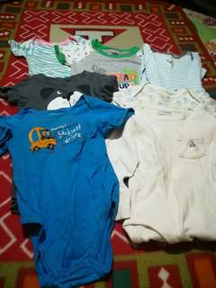 Assorted baby dresses