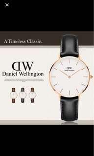 Daniel Wellington 32mm clad I Petite white bLack Sheffield