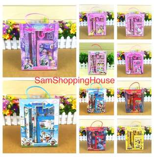 Children's Birthday Party Goodies Bag / stationery set