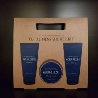 Aqua Fresh Men's Shower Kit