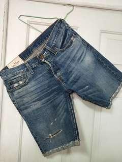 🚚 Hollister30腰反折牛仔短褲