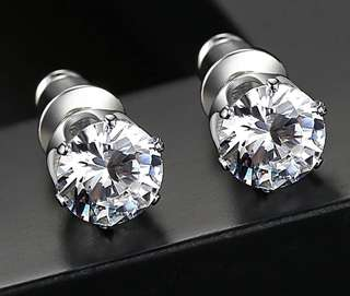 6mm 0.75carat Earrings