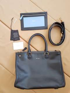 MARKED DOWN! PAUL SMITH LONDON (WATER RESISTANT LEATHER)