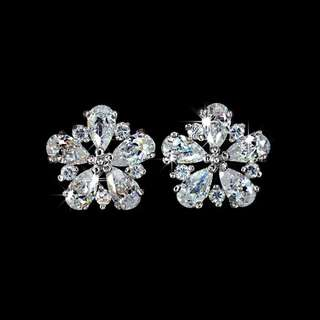 High quality sparkly cz stones Earrings
