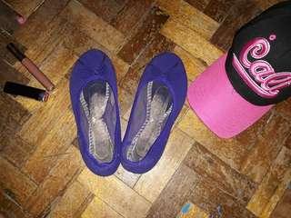 Soulmate Purple Doll Shoes