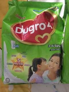 Dugro 4 900g Expiry date 6th August 19 - 2 packs
