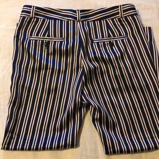 Banana Republic Striped Trousers