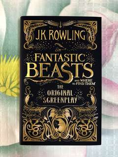 Fantastic Beasts screenplay (Harry Potter universe) / JK Rowling