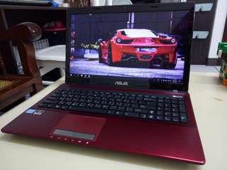 Asus i5/Win7/4Gb/750Gb jdd/15.6inch /Gaming