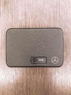 🚚 Benz中華賓士原廠金屬車用家用攜帶密碼鎖保險箱附鋼繩