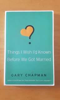 Book: Things To Know Before Marriage