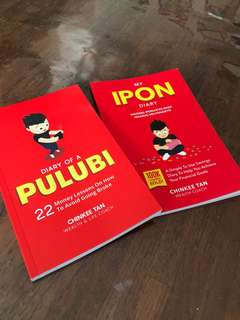 Diary of PULUBI & My Ipon Diary by Chinkee Tan