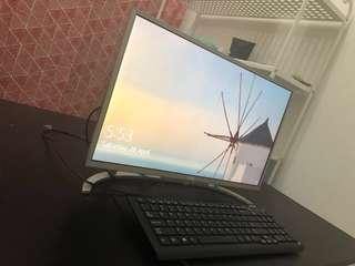 """Acer All in One Ultrathin Desktop Aspire C22-760 Full HD LED  21.5"""" (Latest Model)"""