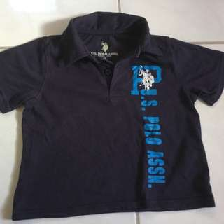 US Polo Assn. polo shirt for kids ( size 3t)