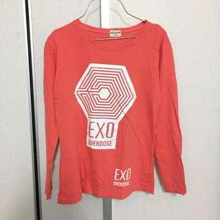Tshirt Exo #letgo4raya