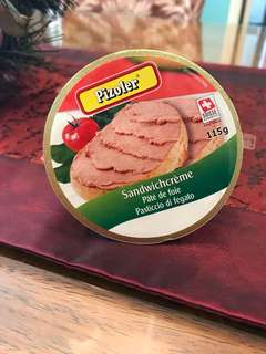 Pate de foie (liver spread)