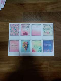 Typo Message Cards