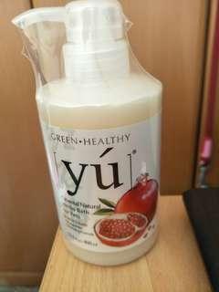 YU Pomegranate Volumizing Formula Pet Shampoo
