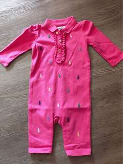 Ralph Lauren Romper pink size 3 months