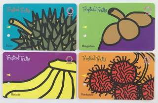 TransitLink Cards - Tropical Fruits