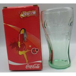 "Coca-Cola 可口可樂 ~ 及時行樂 美國制 4.5"" mini 版 水杯"
