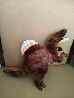 boneka raptor dinosaurus