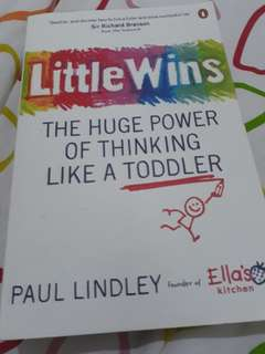 Little Wins - The huge power of thinking like a toddler