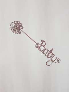 "Papemelroti bookmark ""baby"""