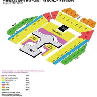 wanna one concert tickets