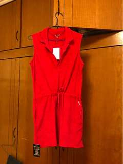 Red towel Cover up dress