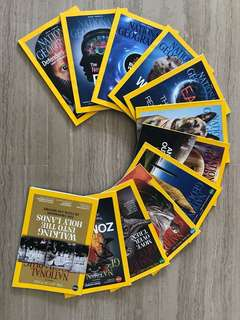 National Geographic Magazines 2014