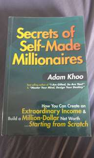 Secrets of Self-made millionaires - Adam Khoo