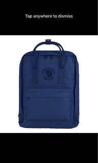 Re-Kanken classic size backpack midnight blue medium