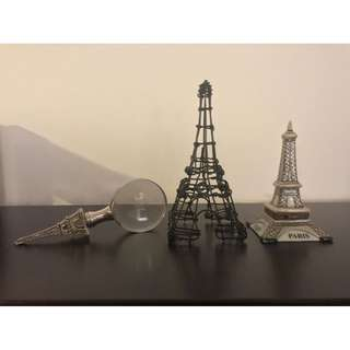 Paris Eifel Tower Items