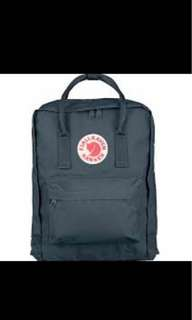 Kanken Classic backpack medium size graphite