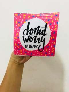 Donut Worry Memo Pad
