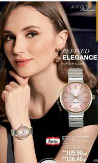 Andrea Two-Tone Ladies Watch