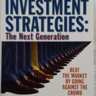 Contrarian Investment Strategies: The Next Generation by David Dreman