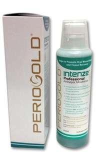 Periogold intense professional antiseptic mouthwash