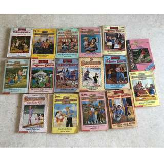 The baby sitters club, The Boxcar children total 16 books
