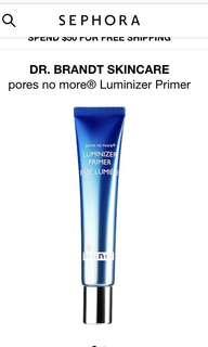 DrBrandt pores no more® Luminizer Primer