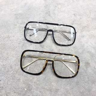 Clear Spectacles Ulzzang (PO)