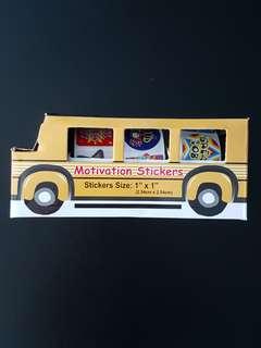 [INSTOCK] BN Reward/Merit Stickers School Bus (540 stickers)