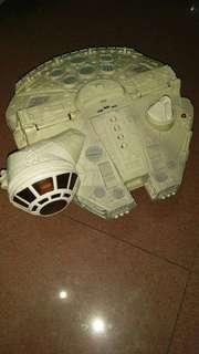 💯 Batt OP Original 2001 Hasbro Playskool Heroes Star Wars Millenium Falcon Ship