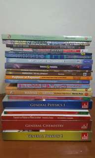 Grade 11 & 12 Text books