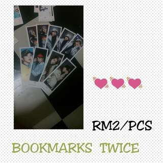 Bookmarks twice