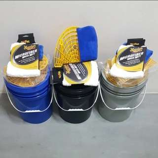 Car wash grit guard bucket set